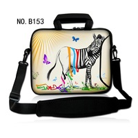 """Stylish Sexy Zebra Shoulder Case Cover Handle Bag Sleeve Pouch For 17.3"""" 15.6"""" 14"""" 13.3"""" 11.6"""" 10.1"""" Laptop PC"""