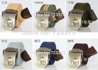 2014 south Korean new brand men fashion canvas belts,men's leisure joker thickening personality belts,women Military belts