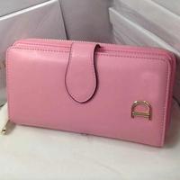 Promotion 2014 new Women Wallets Genuine Leather Women Cash Change purse High quality large capacity women wallets