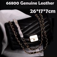 promotion hot women shoulder bags genuine leather women chain shoulder bags casual 2014 new women handbags