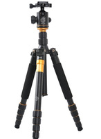 QZSD-02 Professional Photographic Portable Tripod Set For Digital SLR Camera Only 35cm Load Bearing 15Kg  Q666+10