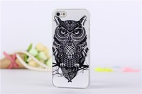 10pcs/lot Fashion Owl Cat Eagle Elephants Lovely Animal Hard Cover Back Case For iphone 5 5s For iphone 5 5s Hard Case New
