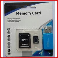 Memory cards Micro SD card 32GB class 10 Memory cards2GB 16GB 8GB 4GB Microsd TF card Pen drive Flash + Adapter + gift Reader