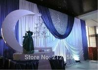 2014 New European style wedding props 70 colors wedding backdrop curtains decoration wedding drapes