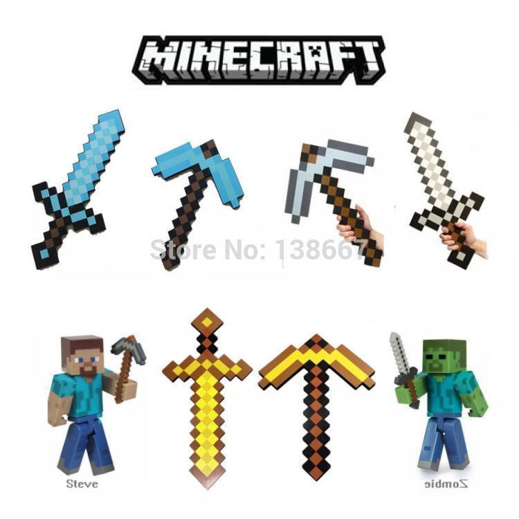 Minecraft Diamond Sword Transparent Background Minecraft Diamond Sword Toy
