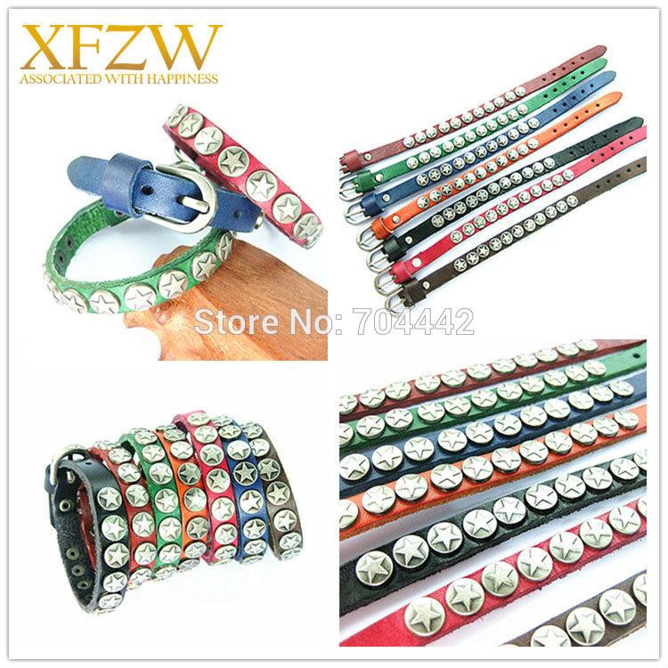 leather bracelet men LCZ084(China (Mainland))