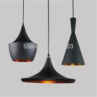 Tom Dixon Beat ABC (Tall, Fat & Wide) Pendant Lamp Creative DIY Aluminum Pendant Lights Black White Restaurant / Bar Lights