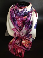 2014M ~ Q ~ autumn and winter large heavy silk twill scarf large square Women's Silk Shawl