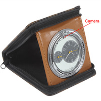 2014 new Wallet Shape 5.0M Clock DVR Motion Detection Webcam 1280 x 960VGA with Temperature Display
