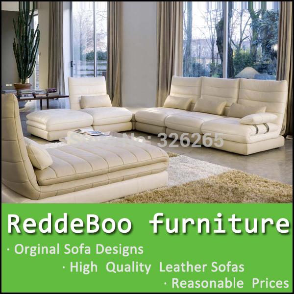2014 big corner sofa set modern looking furniture 3818#(China (Mainland))