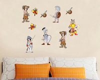 JM8156 Sofa is the bedroom of children room TV cartoon stickers  Vinyl wall stickers for kids decorative  mural wall paper