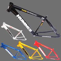 "hummer 26"" 17"" aluminum alloy mountain bike frame pure disc frame"