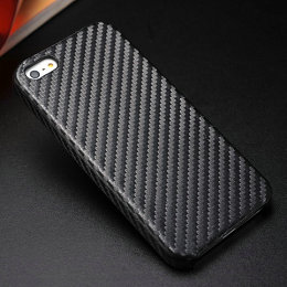 Big discount hard back cover for iPhone 5 5g 5S, Carbon Fiber back case cell phone case for iPhone5s 5 5G,with Free Gift(China (Mainland))