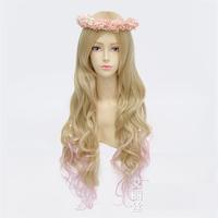 High quality 80cm daily lolita curly cute princess comic anime cosplay wig hair