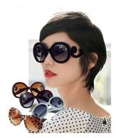 New fashion 2014 1pcs  fashionable Retro Inspired Round women's Sunglasses Worldwide Y02