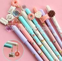 Kawaii Cute cartoon style gel pen  ,creative gel pen,Good price, Office supply, Free shipping(tt-1206)