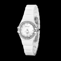 New Fashion Jewelry Watch 2014,White china Watchband  waterproof  Watch,Luxury Top Brand Watches for Lovers
