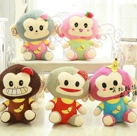 Lovely fruit doll creative monkeys doll of invincible big plush toy doll