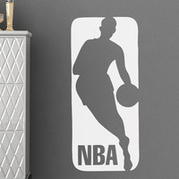 [Black White] Free Shipping  PVC Wall Sticker ,Wall Decal ,Wallpaper, Room Sticker, House Sticker Basketball L-2250