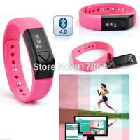 Vidonn X5 Bluetooth 4.0 IP67 Smart Wristband Sports & Sleep Tracking Health Fitness for iPhone 4S 5 5S 5C 6 Samsung S4 S5