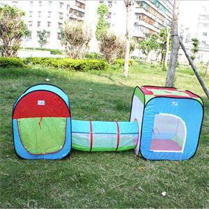 2014 Nova engraçado crianças brinquedos ao ar livre Tendas Túnel / Portátil Tipo Toy Tent for Kids / Presente novetly Para Kid(China (Mainland))