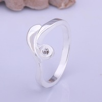Rings 925 silver special design trendy rings 925 silver fashion jewelry for elegant women jewelry wert erty R405-8
