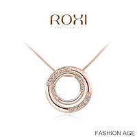 ROXI fashion new arrival, genuine Austrian crystal,fashion for women.party necklaces,Chrismas/Birthday gift