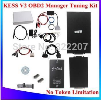 High Quality V2.06 KESS V2 OBD2 Manager Tuning Kit NoToken Limitation Kess V2 Master(China (Mainland))