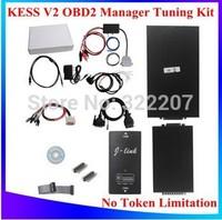 High Quality V2.06 KESS V2 OBD2 Manager Tuning Kit NoToken Limitation Kess V2 Master