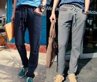 2014 New Sports Drop Crotch Harem Men Baggy pants mens hip hop casual sweatpants cotton  fashion Outdoor trousers