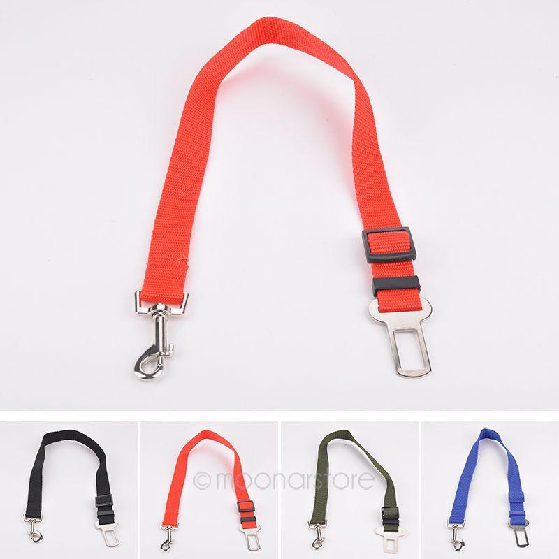 Dog Pet Car Safety Seat Belt Harness Restraint Lead Adjustable Travel Clip 90cJMPJ194(China (Mainland))
