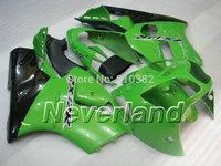 Custom Motorcycle Fairing kit for KAWASAKI Ninja ZX12R 2000 2001 ZX12R 00 01 Famous green black Fairings set+7 gifts SB04