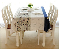 Nordic small aircraft design house dining linen  tablecloth table cloth   Free shipping