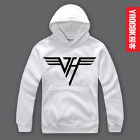 YAOCOK Van Halen  personality Pure cotton hooded hoodie
