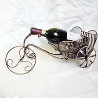 S stylish wrought iron wine rack wine rack creative car