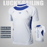 new arrival 2014 Mens Designer Quick Drying Soccer jerseys Tee Shirt Slim Fit Tops Sport Shirt Size M L XL XXL free shipping