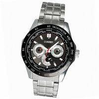 2014 Curren Dashboard 3ATM waterproof Quartz Men's fashion military Army Vogue Mens Calendar Wrist Watches Brand High quality
