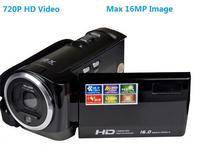 HD-D40 High Quality 16 Mega Pixls Max 720P HD Video 16 X Digital Zoom Video Camera Digital Camcorder with Lithium Battery