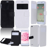 Flip Protector Case Clamshell Protector Black/White Solid Clamshell Protector For JIAYU G4S XDA2001