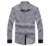 2014 new arrive casual shirts high quality turn-down collar men's shirts 29