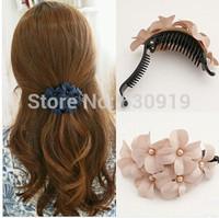 2014 Hot Selling Fashion Peacock Full flower Hairpin Hair Clip Headwear Barrettes for Women