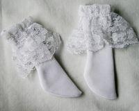 13# ACC White Socks/Stockings 1/6 SD DOD DZ BJD Dollfie