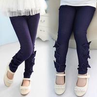 Free Shipping Wear In Autumn Girls Leggings Fantasia Infantil Girls Pants For 4-7 Four Periods Lovely Girls