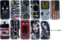 1PCS 2014 Newest Soft TPU Vintage Tape Retro Flag back cover Case Samsung Galaxy s5 mini G870W SM-G800 TPU Case