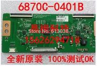 Free shipping!! Original T-CON board LC 32 37 42 47 55 FHD TM120 VER 0.2 6870C-0401B for LG LED LCD TV logic board
