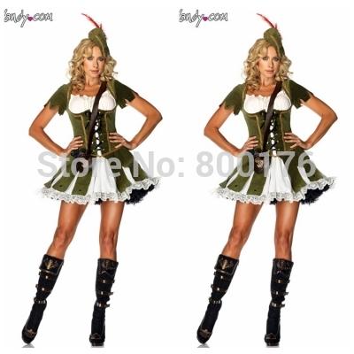 versandkostenfrei 4997 rassig robin hood Maid Marion filmfigur kostüm ...