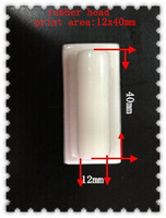 silicon rubber pad head used for pad printing machine to code expiry date lot number