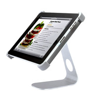 Free shipping ! 360 Degree  Rotatable Aluminum Alloy Desktop Holder Table Stand for Apple lPad 1/2/3/4   TE008