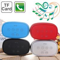 2014 NEW  1+1 Wireless Bluetooth Speaker S-18 Smart Music 3D NFC Speaker  Handsfree Car Speakers Touch Button Support TF Card