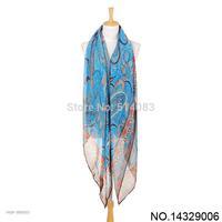 2014 New Designer Scarf 5 colors Fashion Scarf Women 180*100 cm Phoenix collards voile long towel Long Voile Scarf hijab Shawl